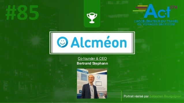 #PortraitDeStartuper Portrait réalisé par Sébastien Bourguignon Co-founder & CEO Bertrand Stephann