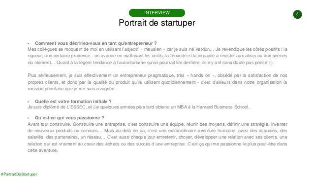 #PortraitDeStartuper #85 - Alcméon - Bertrand Stephann Slide 3