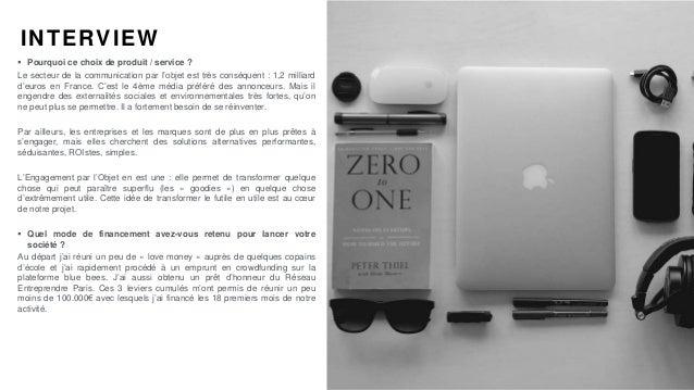 #PortraitDeStartuper par Sébastien Bourguignon INTERVIEW  Pourquoi ce choix de produit / service ? Le secteur de la commu...