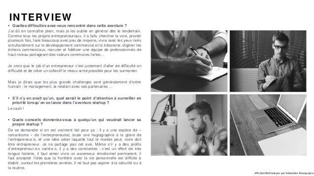 #PortraitDeStartuper par Sébastien Bourguignon INTERVIEW  Quelles difficultés avez-vous rencontré dans cette aventure ? J...