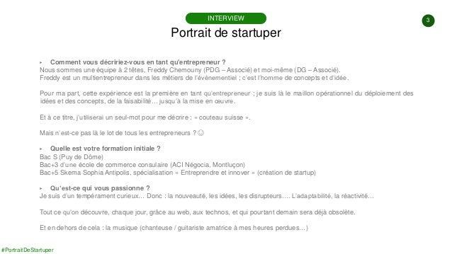 #PortraitDeStartuper #86 - Eventiko - Anne-Marie Randriamanandraitsiory Slide 3