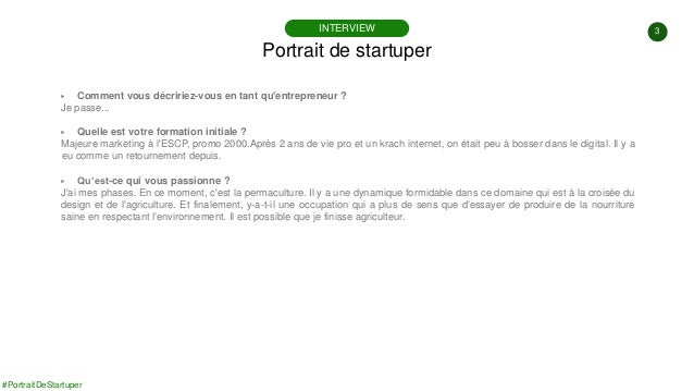 #PortraitDeStartuper #87 - Shapr - Vincent Bobin Slide 3