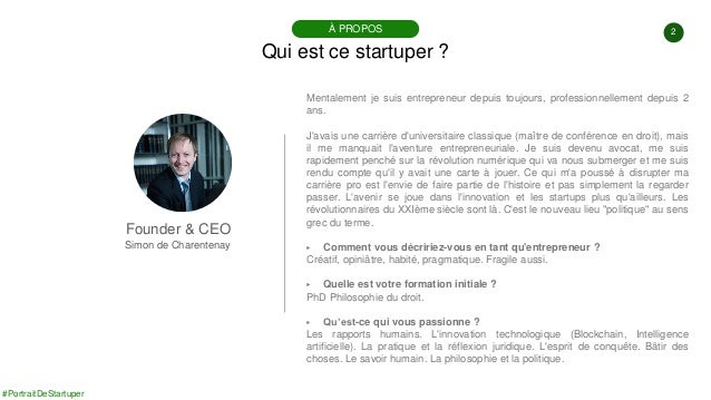 #PortraitDeStartuper #88 - Openflow - Simon de Charentenay Slide 2