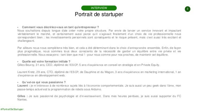 #PortraitDeStartuper #91 - Homepilot - Julien Kretz & Gilles Bourcy Slide 3
