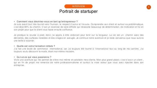 #PortraitDeStartuper #92 - Michel Sainte-Rose - Marebiz Slide 3