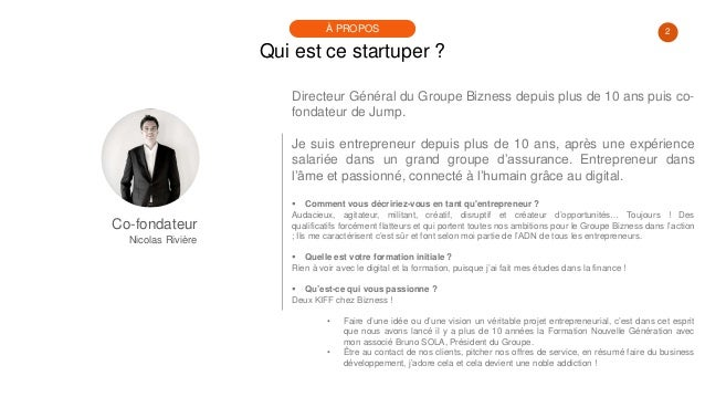 #PortraitDeStartuper #95 - Nicolas Rivière - Jump Slide 2