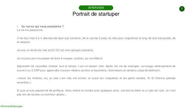 #PortraitDeStartuper #96 - Le Bon Côté Des Choses - Thierry Ferrandiz Slide 3
