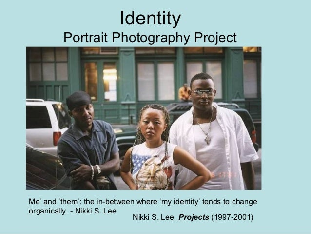 Identity         Portrait Photography ProjectMe' and 'them': the in-between where 'my identity' tends to changeorganically...