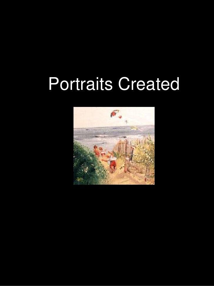 Portraits Created