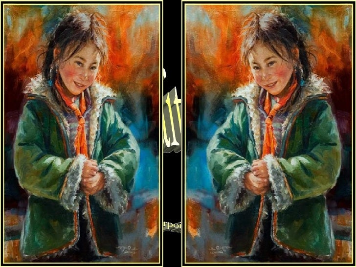 Portraits of Tibet Powerpoint by Lia