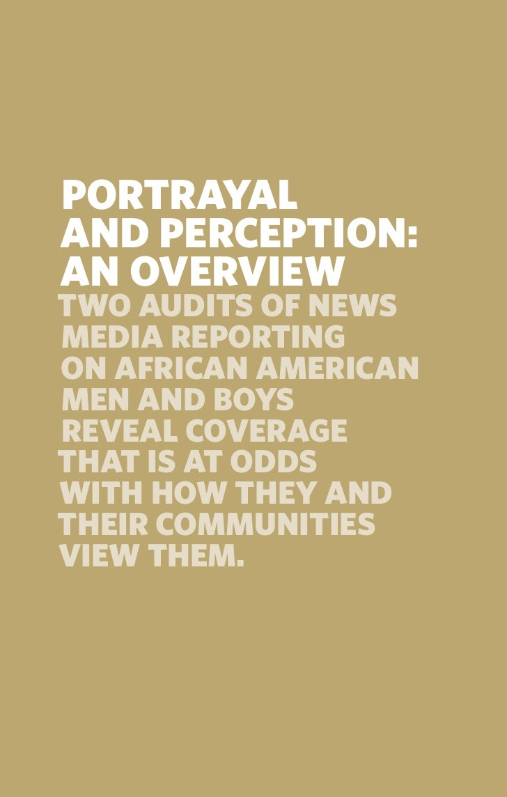 perception of the african american males 2 essay African-american experience and issues of  consigning the n word to personal history-- a 2006 radio essay by an african american  african american males.