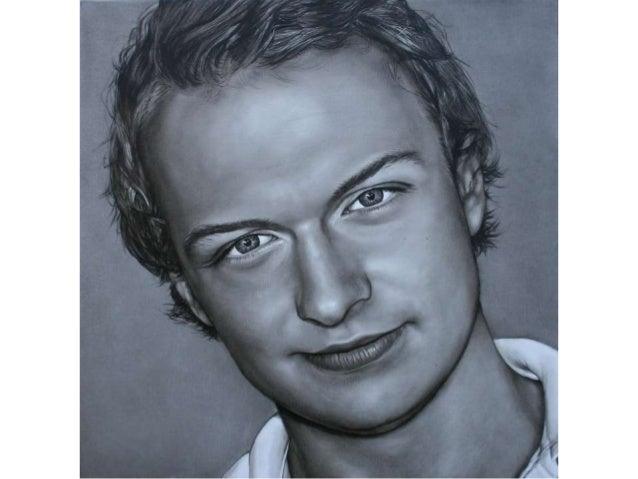 Portret in opdracht, olieverf op linnen. 70/70 Saskia Vugts Portretschilder