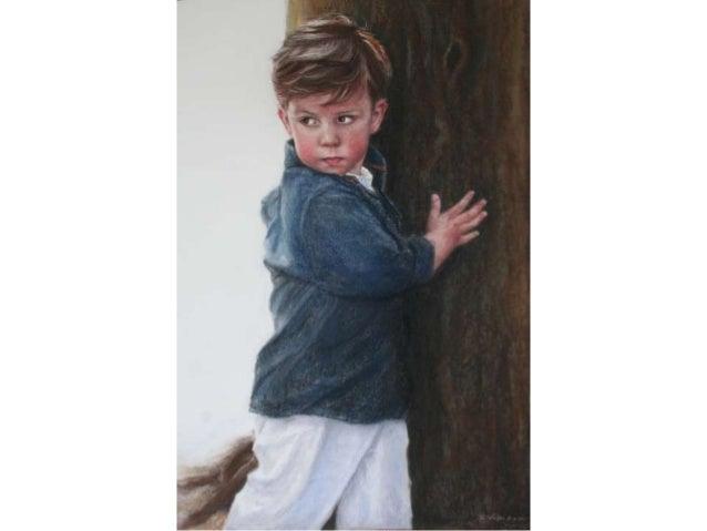 Portret in opdracht, pastel , Saskia Vugts Portretschilder