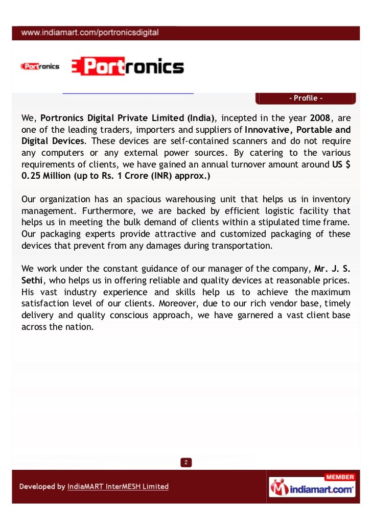 Portronics Digital Private Limited, India, New Delhi, Innovative