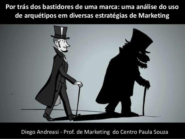 Por trás dos bastidores de uma marca: uma análise do uso  de arquétipos em diversas estratégias de Marketing  Diego Andrea...