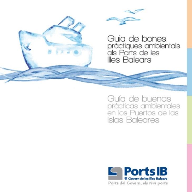 Ports IB | Guía de buenas prácticas en los Puertos de las Illes Balears