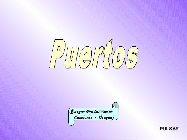 Cargar Producciones  Canelones - Uruguay  PULSAR