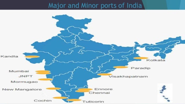 water ports in india
