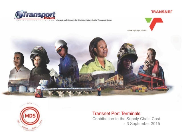 Heading heading heading DateTransnet Port Terminals Contribution to the Supply Chain Cost - 3 September 2015