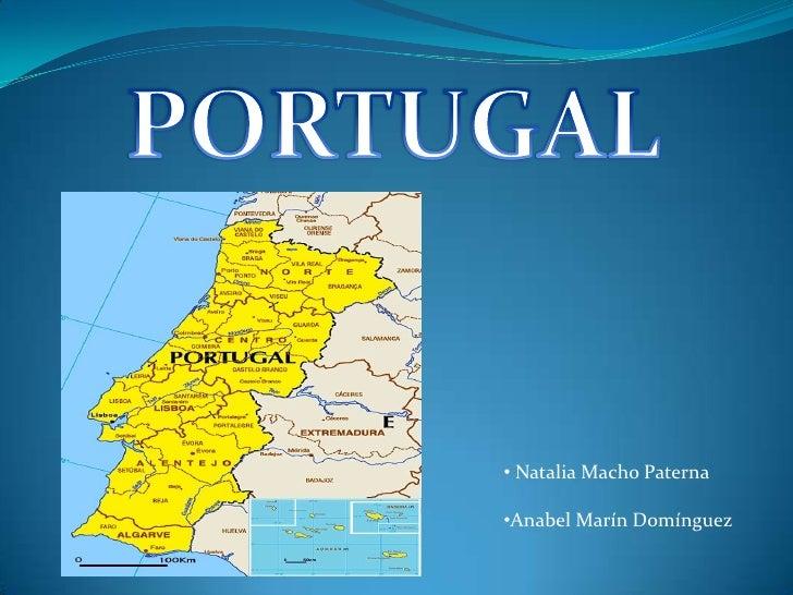 PORTUGAL<br /><ul><li> Natalia Macho Paterna