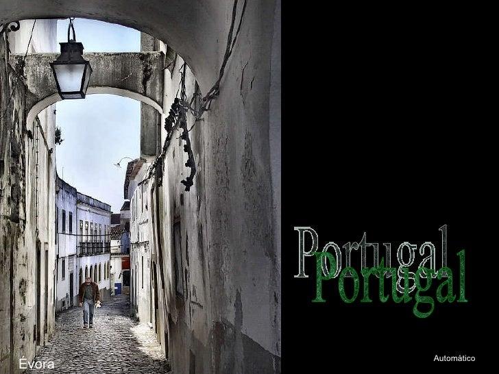 Évora Portugal Automático