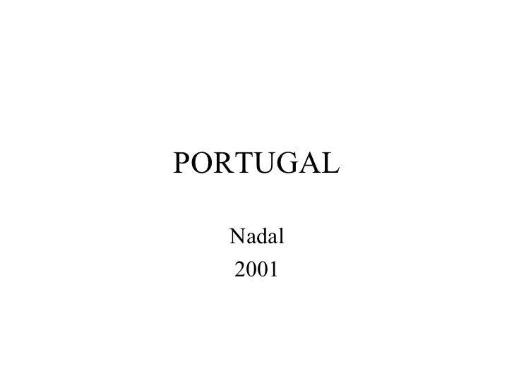 PORTUGAL  Nadal  2001