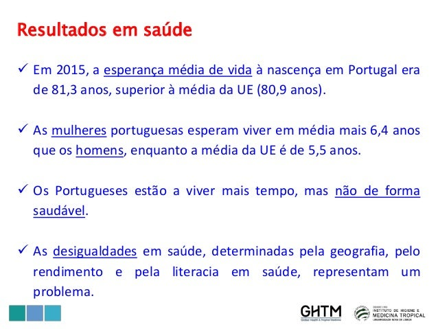 O Futuro dos Sistemas Universais de Saúde – Portugal Slide 3