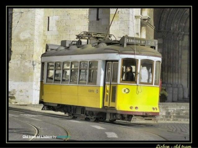 Old tram of Lisbon by sacavem  1