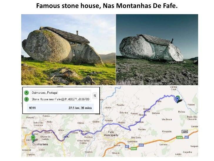 Famous stone house, Nas Montanhas De Fafe.