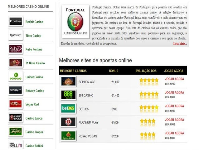 Portugal casino online