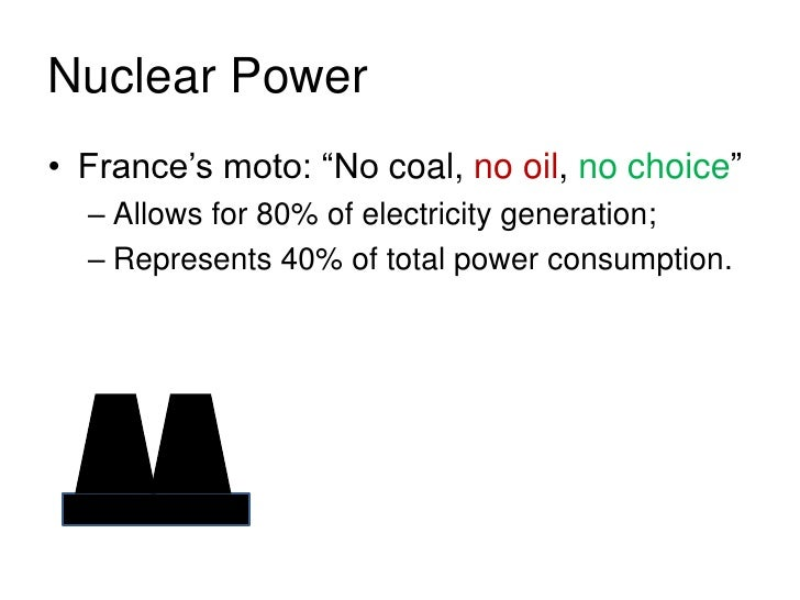 Nuclear Power in Europe •   The only countries     that do not have     nuclear power are:      – Ireland (considering    ...