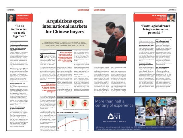 04  PORTUGAL aegm adels  aegm adels business report  business report  05 PORTUGAL  Acquisitions open  international market...