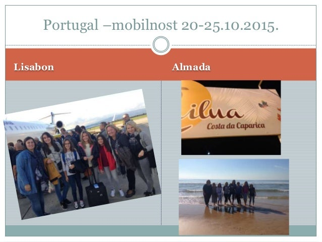Lisabon Almada Portugal –mobilnost 20-25.10.2015.