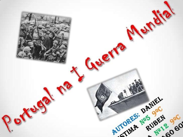 Como Portugalentrou na Guerra