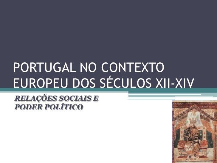O Reforço do Poder Senhorial                    RECONQUISTA CRISTÃ            DOAÇÕES DE TERRAS FEITAS PELOS REIS         ...