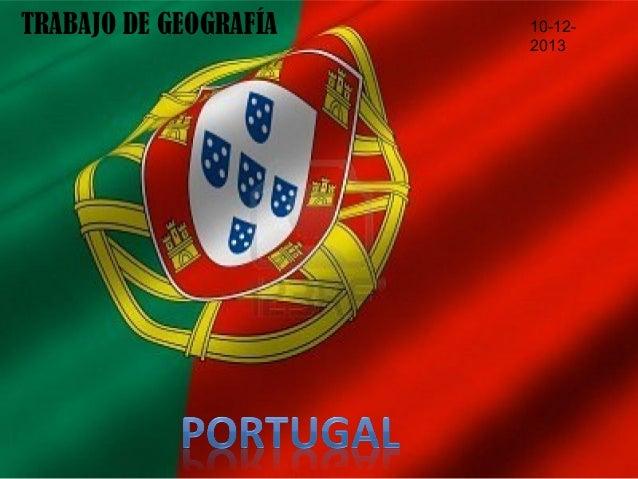 TRABAJO DE GEOGRAFÍA  10-122013