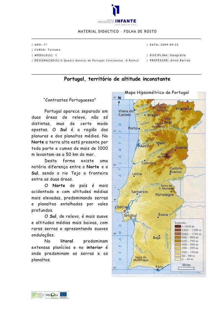 Portugal Territorio De Altitude Inconstante