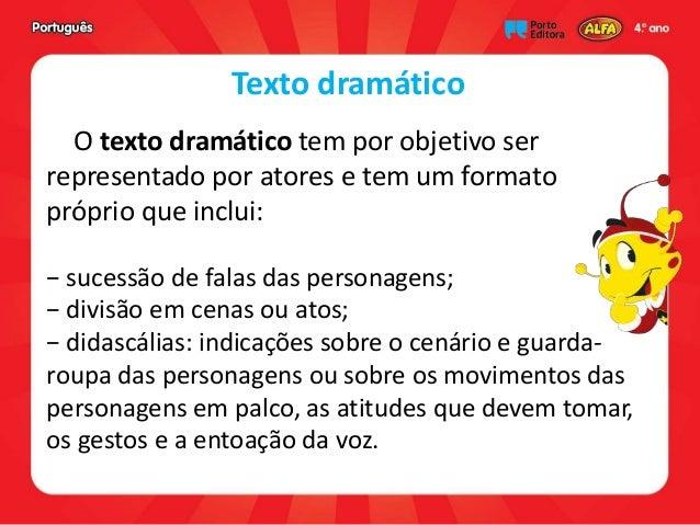 Falas Do Silêncio: Portugues 13 Tipos_texto
