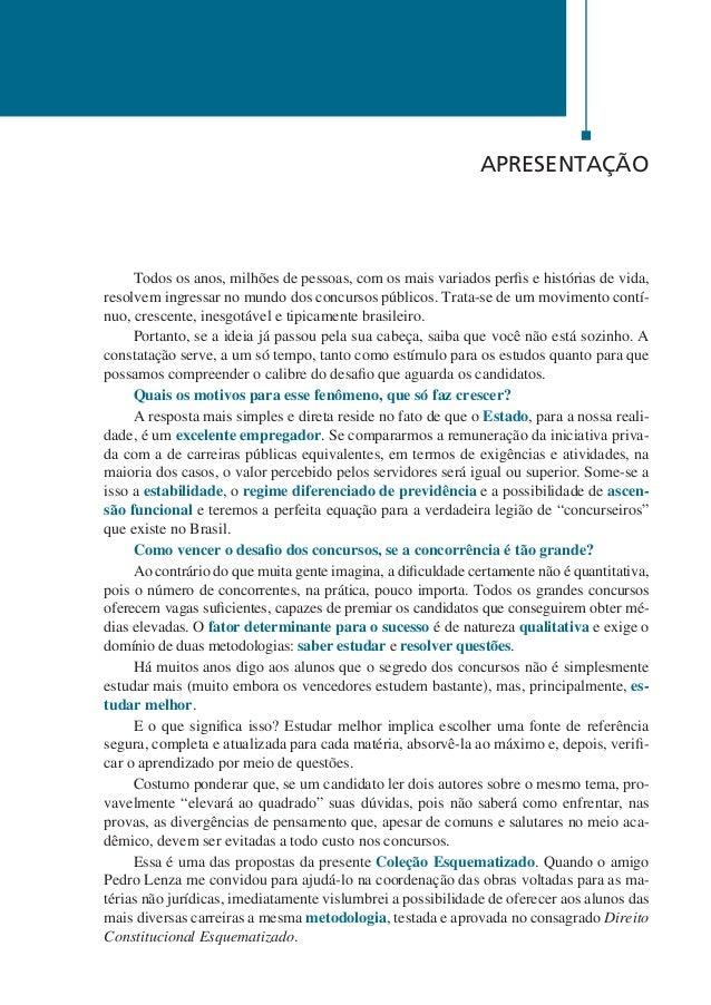 12  Português Esquematizado  Agnaldo Martino  Sabemos que a grande dificuldade dos concursos de ampla concorrência, aberto...