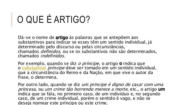 português artigoArtigo #17