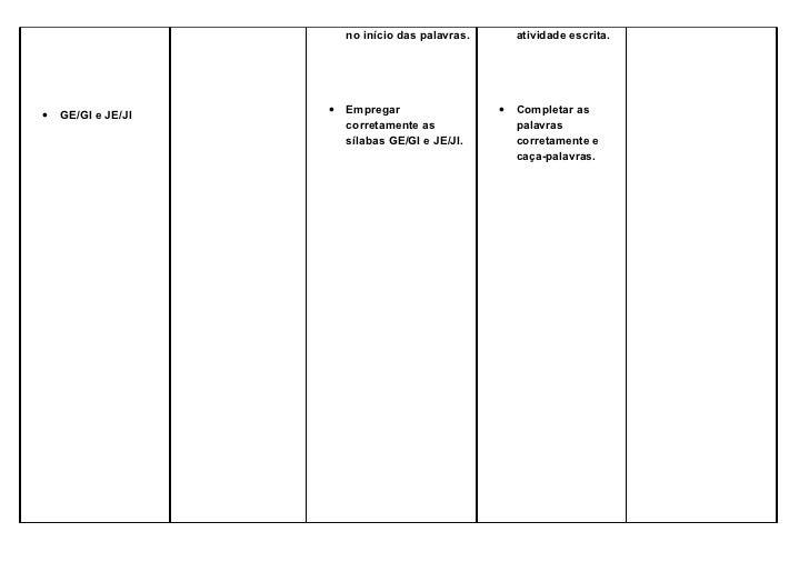 no início das palavras.       atividade escrita.•   GE/GI e JE/JI   •   Empregar                  •   Completar as        ...