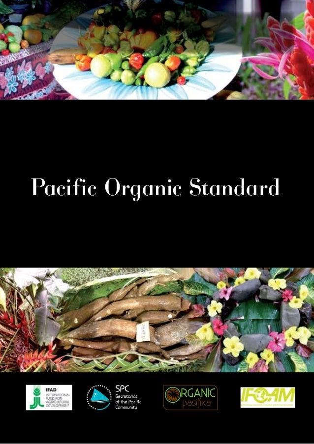 Pacific Organic Standard