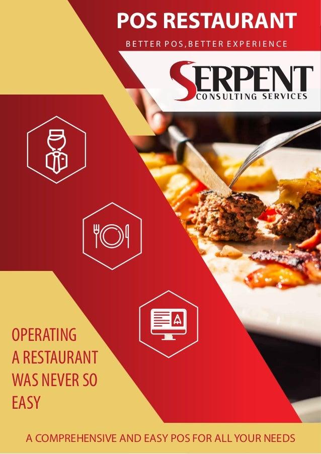Odoo Restaurant Management Pos