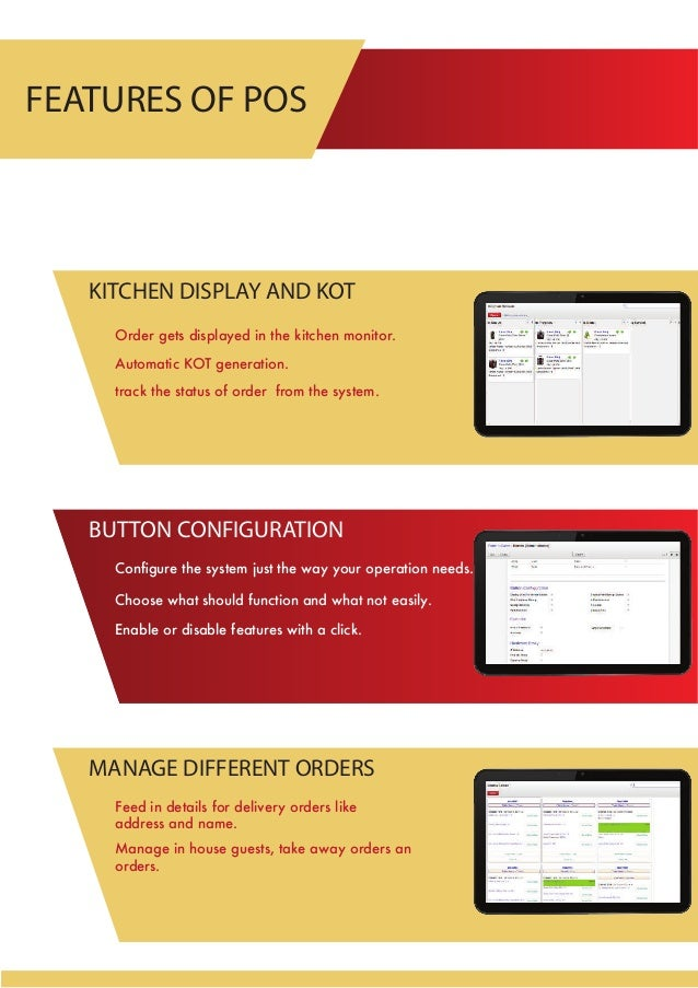 Restaurant Kitchen Order Display odoo restaurant management pos