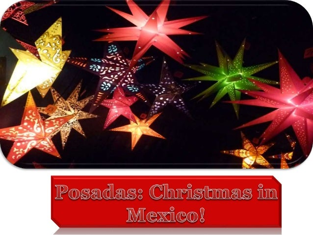 posada in mexican means shelter or inn - Posada Christmas