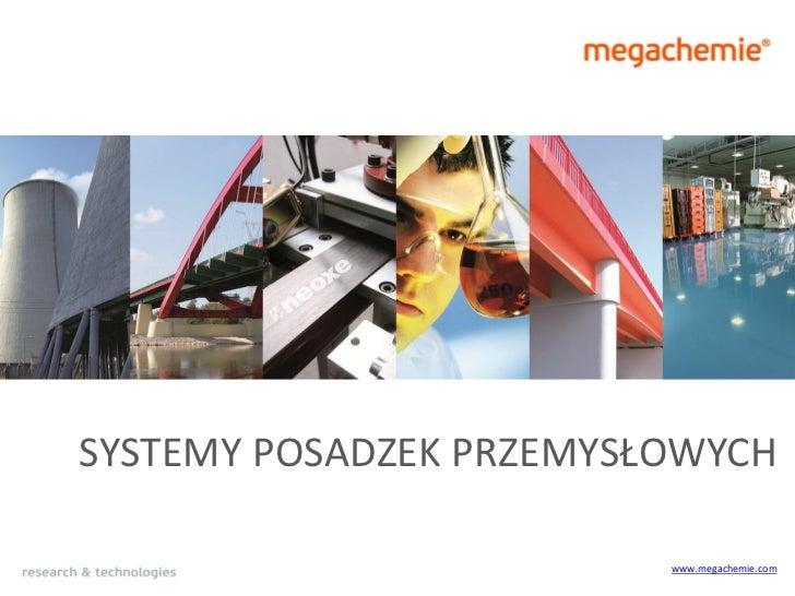 SYSTEMY POSADZEK PRZEMYSŁOWYCH                         www.megachemie.com