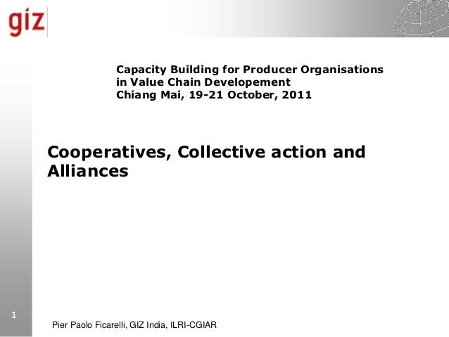 Capacity Building for Producer Organisations                    in Value Chain Developement                    Chiang Mai,...