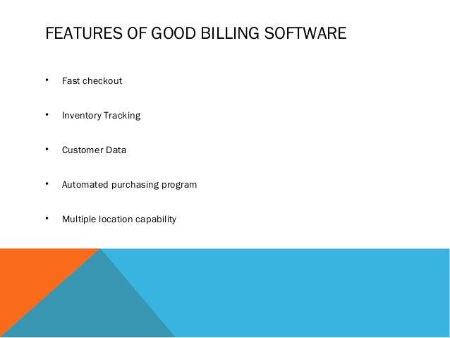 Food Court Billing Software