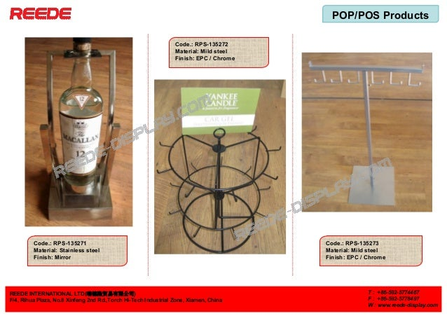 POP/POS Products REEDE INTERNATIONAL LTD(瑞德隆贸易有限公司) F/4, Rihua Plaza, No.8 Xinfeng 2nd Rd.,Torch Hi-Tech Industrial Zone, ...