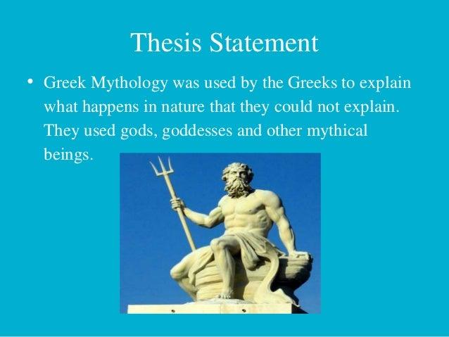 thesis greek goddess